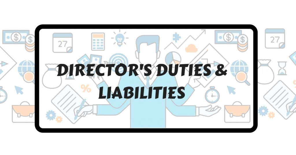 Director S Duties My Legal Web