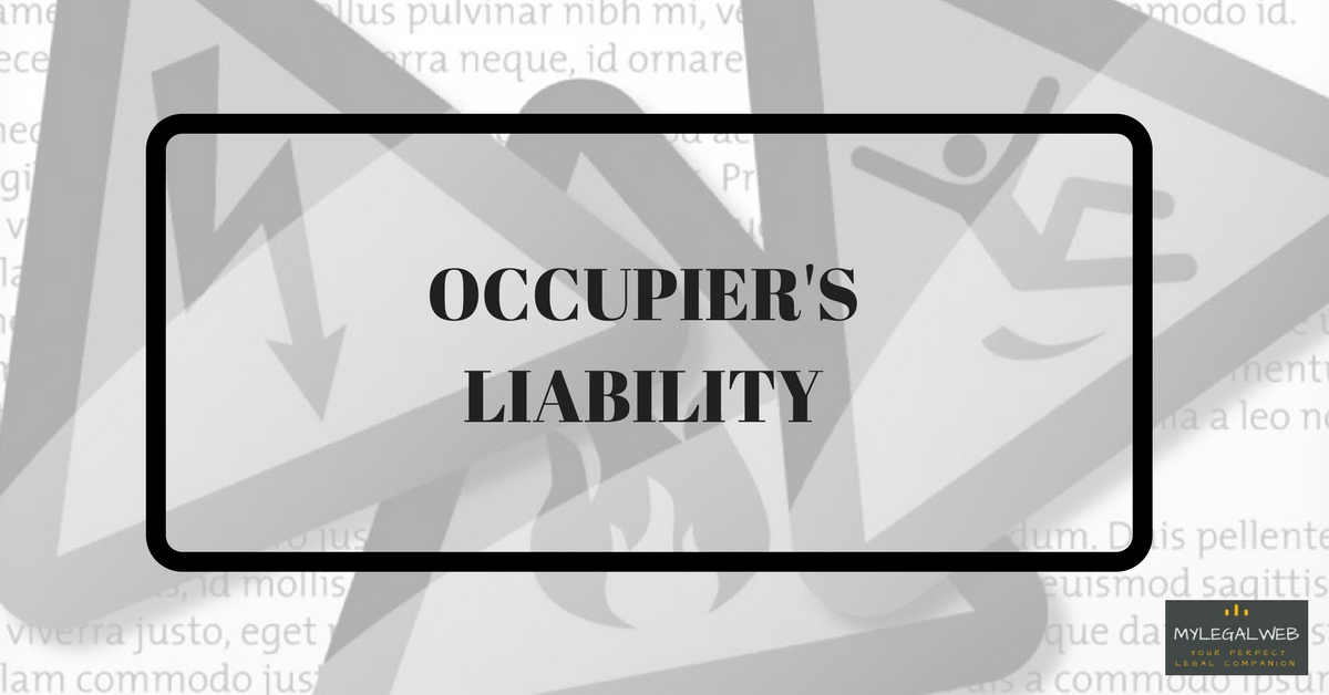 occupiers liability from the common law essay Home law essays business law 0 0  under the law of tort, occupier's liability, an occupier is someone who has occupation or control over a land or structure, owe a common law, duty of care in ensuring that anybody who come on to their premises is not injured there is also an act which can be use to defend for occupier's liability which.