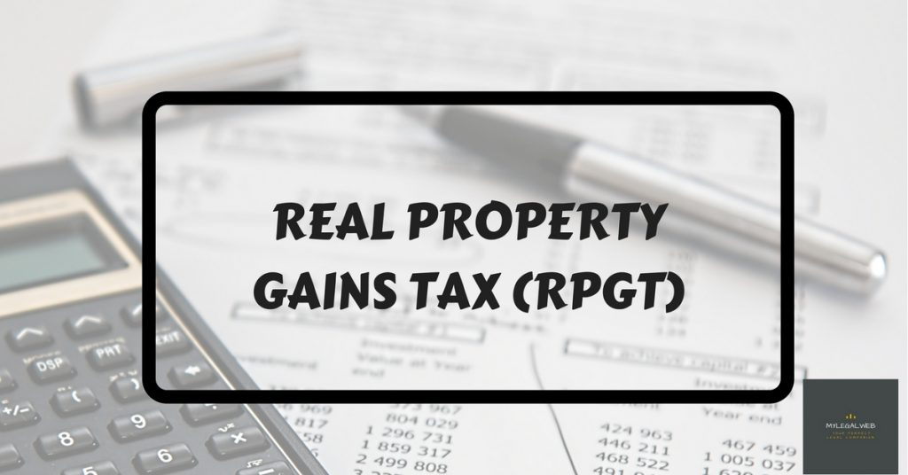 Real Property Gains Tax Malaysia